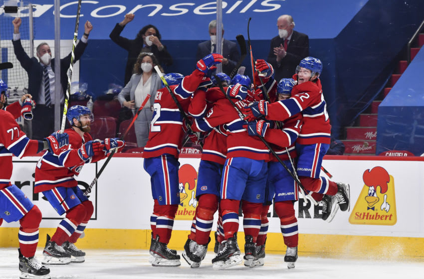 The Montreal Canadiens. (Photo by Minas Panagiotakis/Getty Images)