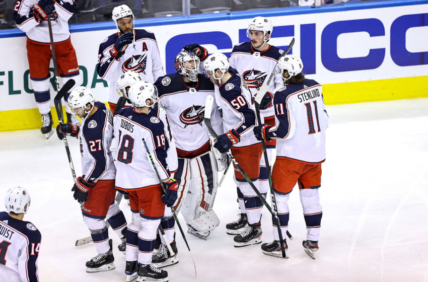 Columbus Blue Jackets (Photo by Elsa/Getty Images)