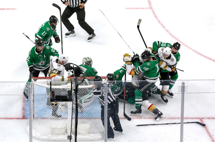 Vegas Golden Knights and Dallas Stars (Photo by Bruce Bennett/Getty Images)