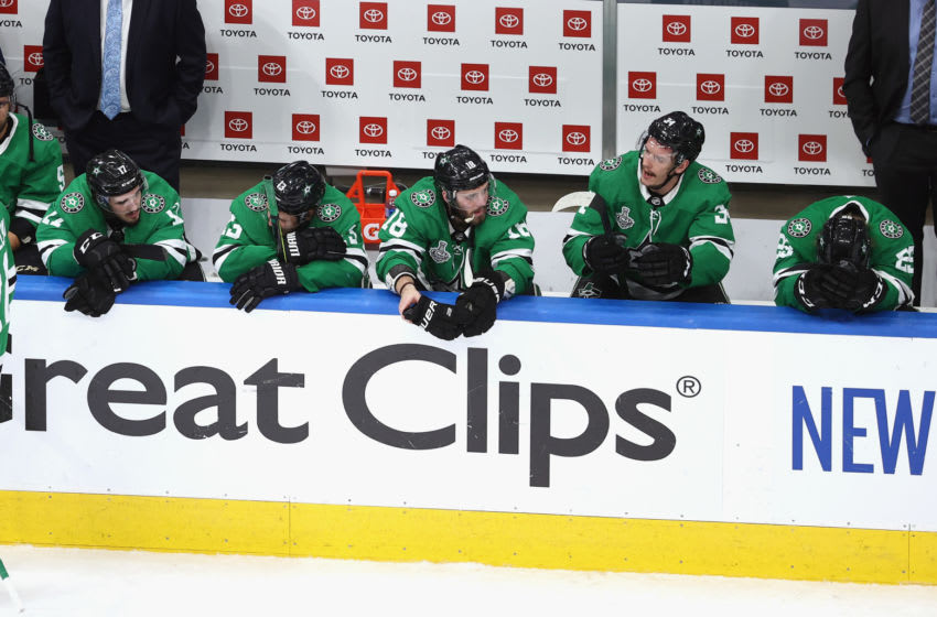 The Dallas Stars. (Photo by Bruce Bennett/Getty Images)