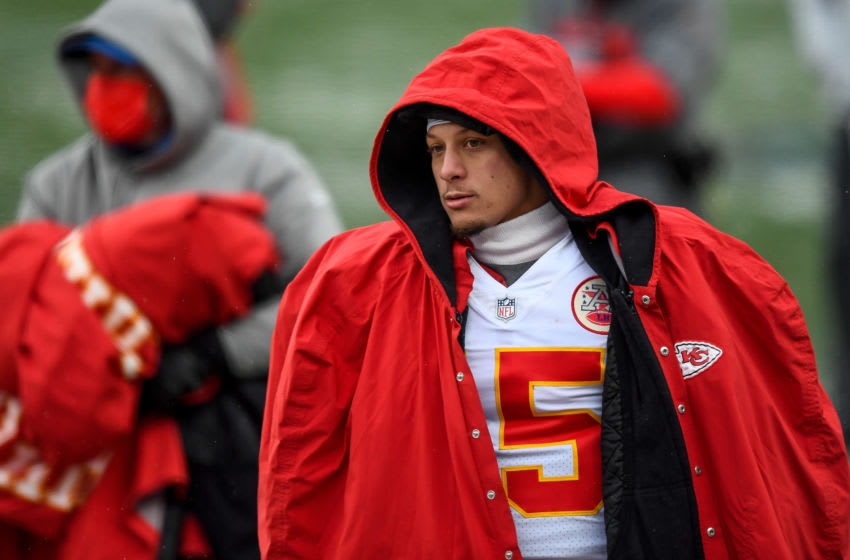 Patrick Mahomes #15 of the Kansas City Chiefs (Photo by Dustin Bradford/Getty Images)