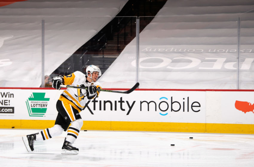 Sidney Crosby #87 of the Pittsburgh Penguins (Photo by Bruce Bennett/Getty Images)