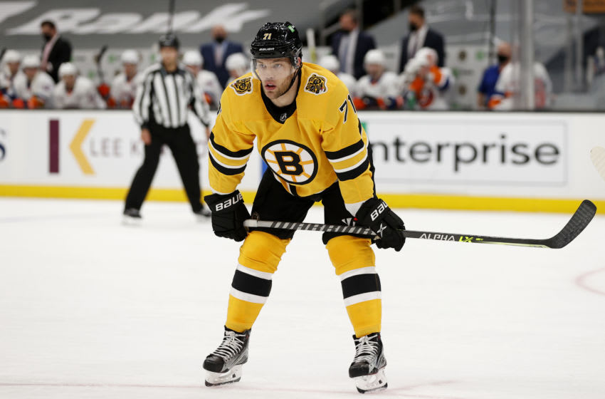 Taylor Hall #71 of the Boston Bruins. (Photo by Maddie Meyer/Getty Images)