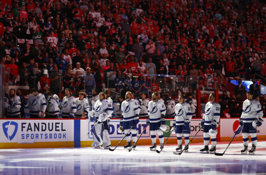 The Tampa Bay Lightning. (Photo by Jared C. Tilton/Getty Images)