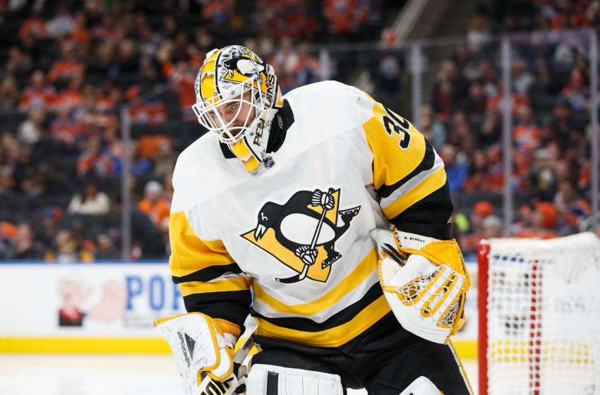 Goaltender Matt Murray #30 of the Pittsburgh Penguins (Photo by Codie McLachlan/Getty Images)
