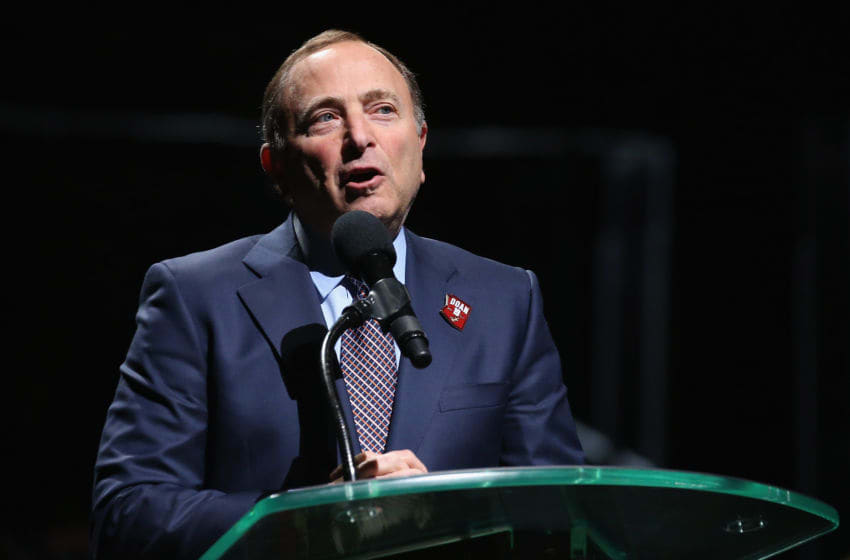 NHL commissioner Gary Bettman (Photo by Christian Petersen/Getty Images)