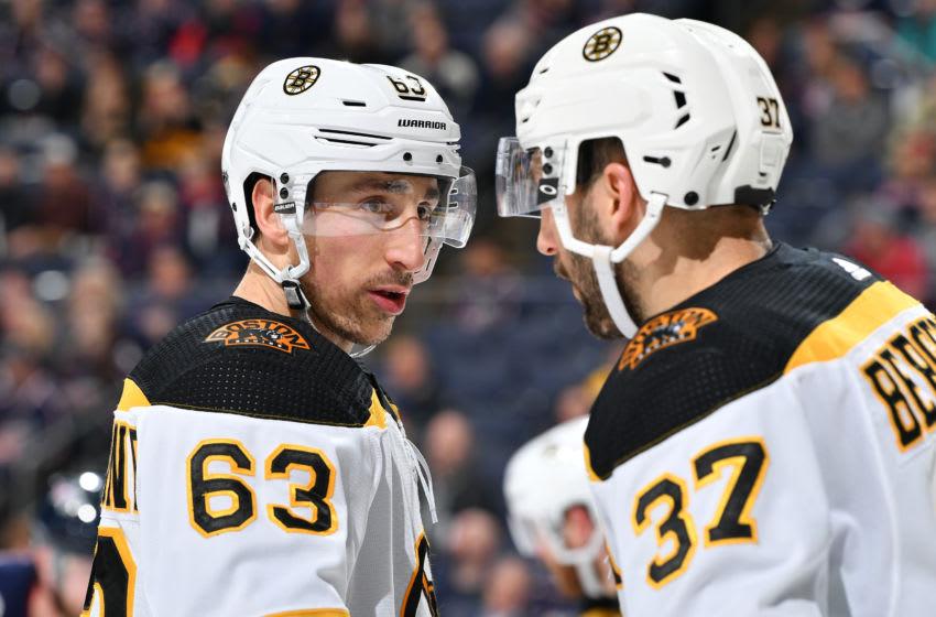 Brad Marchand, Boston Bruins (Photo by Jamie Sabau/NHLI via Getty Images)
