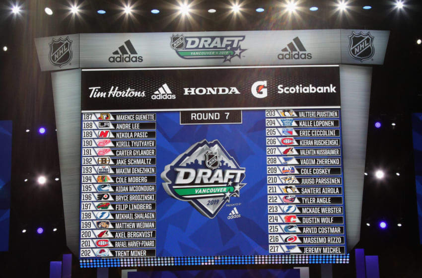 2019 NHL Draft (Photo by Bruce Bennett/Getty Images)