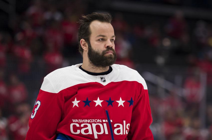 Radko Gudas #33 of the Washington Capitals (Photo by Scott Taetsch/Getty Images)