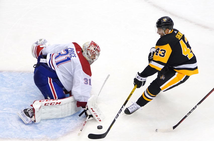 Conor Sheary #43 of the Pittsburgh Penguins (Photo by Andre Ringuette/Freestyle Photo/Getty Images)