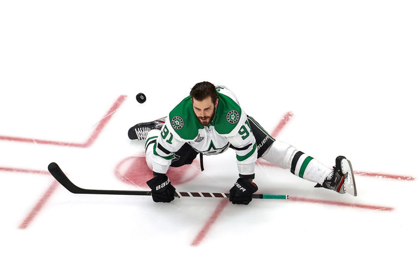 Tyler Seguin #91 of the Dallas Stars (Photo by Bruce Bennett/Getty Images)