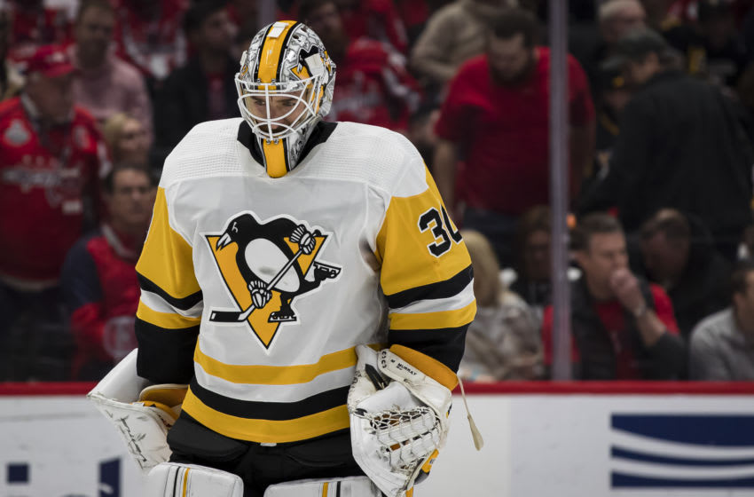 Matt Murray #30 of the Pittsburgh Penguins (Photo by Scott Taetsch/Getty Images)