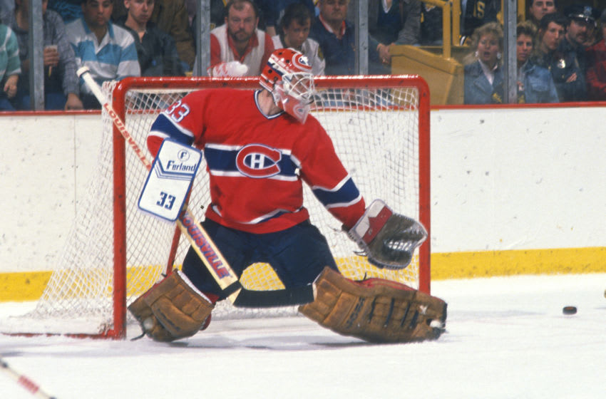 Montreal Canadiens, Patrick Roy (Photo by Focus on Sport/Getty Images)