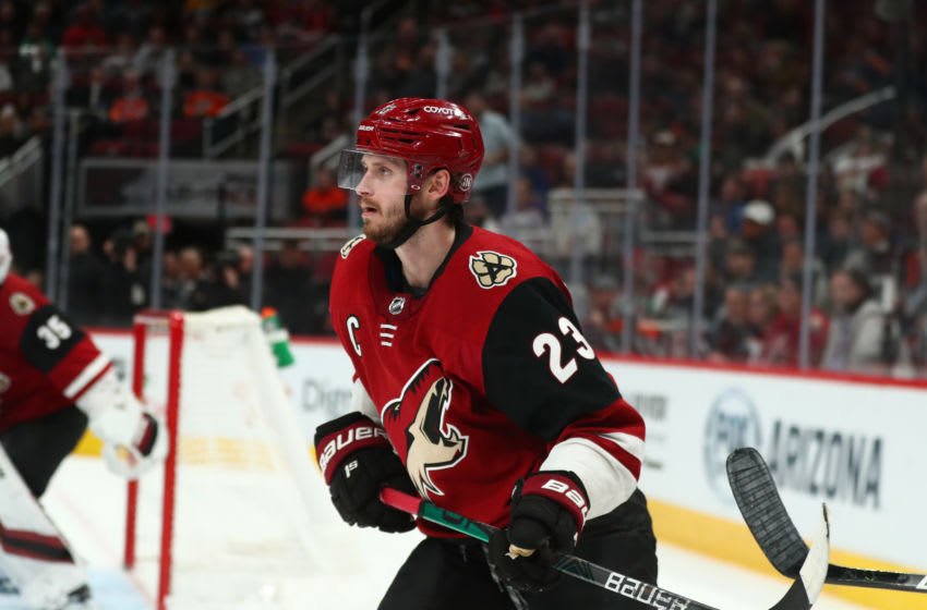 Arizona Coyotes defenseman Oliver Ekman-Larsson (23) (Mandatory Credit: Mark J. Rebilas-USA TODAY Sports)