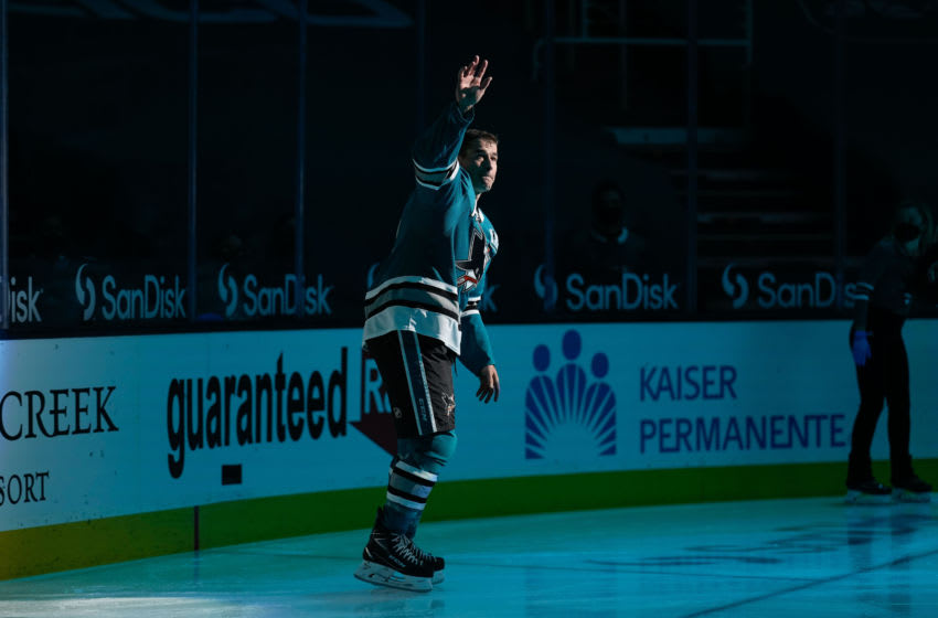 San Jose Sharks center Patrick Marleau (12). Mandatory Credit: Stan Szeto-USA TODAY Sports