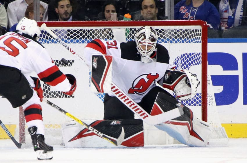Eddie Lack - New Jersey Devils (Photo by Bruce Bennett/Getty Images)