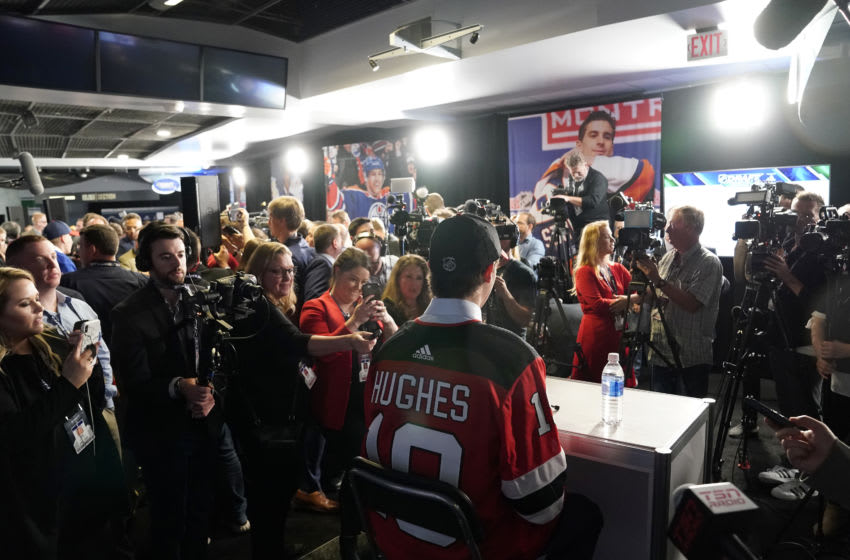 Jack Hughes - New Jersey Devils (Photo by Rich Lam/Getty Images)
