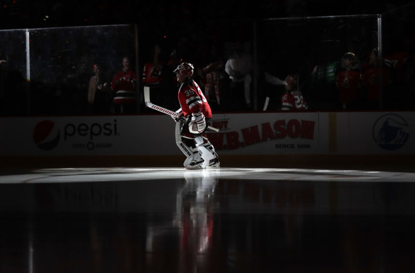 Cory Schneider - New Jersey Devils (Photo by Adam Hunger/Getty Images)