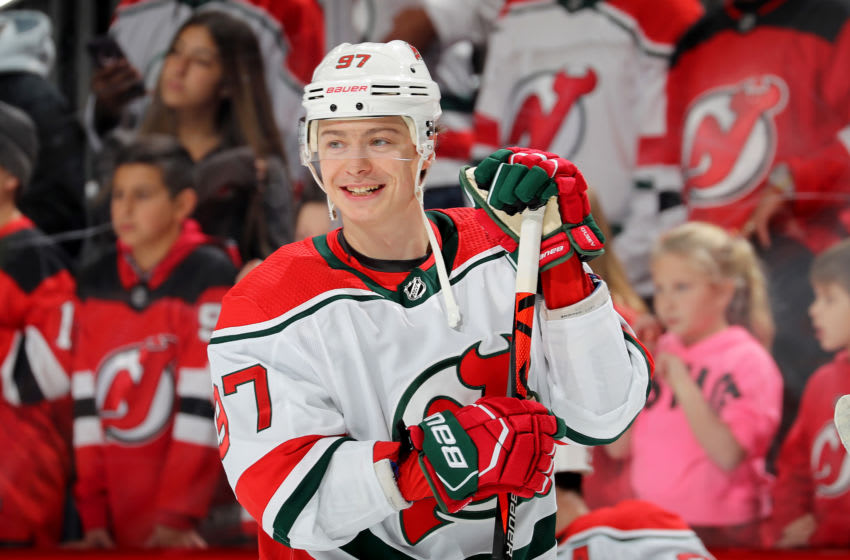 New Jersey Devils - Nikita Gusev (Photo by Elsa/Getty Images)