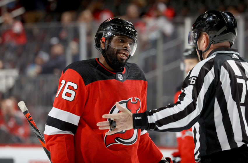 P.K. Subban - New Jersey Devils (Photo by Elsa/Getty Images)