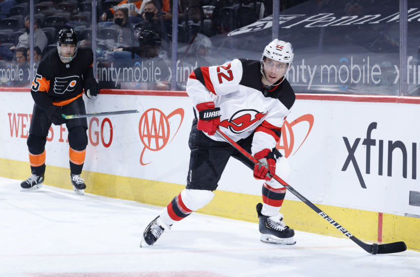 Ryan Murray #22 of the New Jersey Devils (Photo by Tim Nwachukwu/Getty Images)