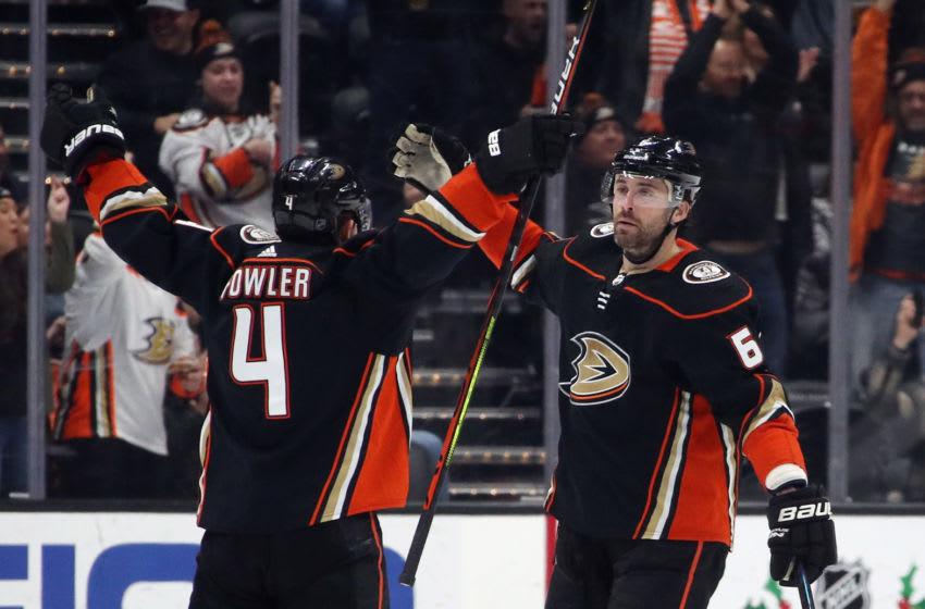 Erik Gudbranson #6 of the Anaheim Ducks (Photo by Bruce Bennett/Getty Images)