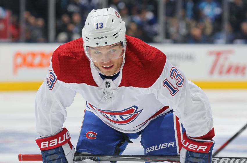 Max Domi #13 of the Montreal Canadiens (Photo by Claus Andersen/Getty Images)