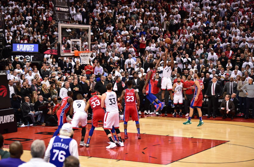 Toronto Raptors - Kawhi Leonard (Photo by David Dow/NBAE via Getty Images)