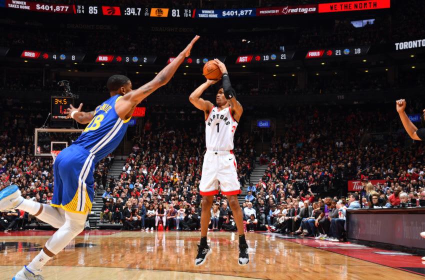 Toronto Raptors - Patrick McCaw (Photo by Jesse D. Garrabrant/NBAE via Getty Images)
