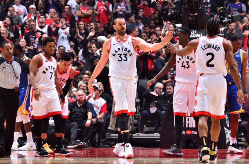 Toronto Raptors - Marc Gasol (Photo by Jesse D. Garrabrant/NBAE via Getty Images)