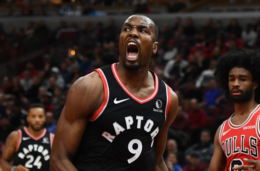 Toronto Raptors - Serge Ibaka (Photo by Stacy Revere/Getty Images)