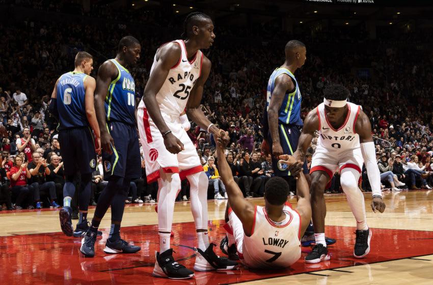 Toronto Raptors - Kyle Lowry (Photo by Mark Blinch/NBAE via Getty Images)