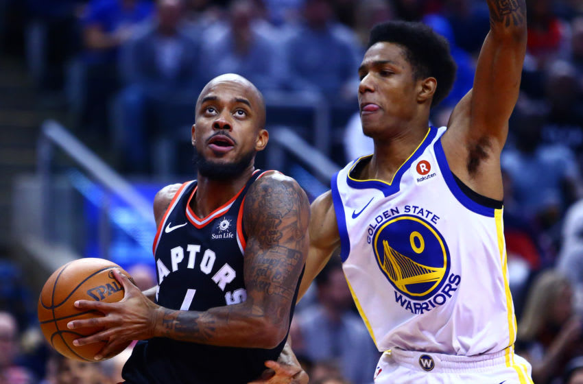 Toronto Raptors - Lorenzo Brown & Golden State Warriors - Patrick McCaw (Photo by Vaughn Ridley/Getty Images)