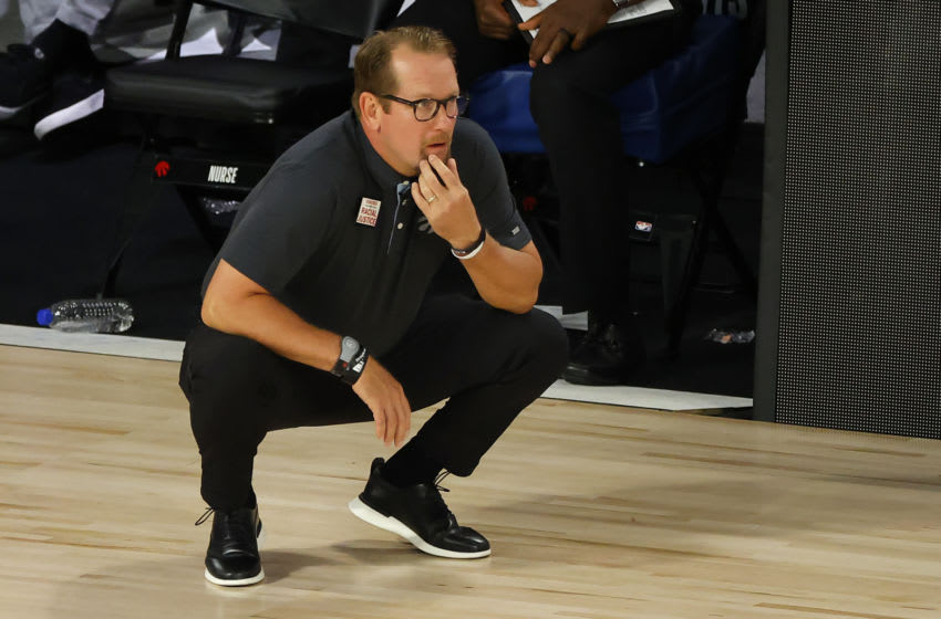 Toronto Raptors, Nick Nurse (Photo by Kevin C. Cox/Getty Images)