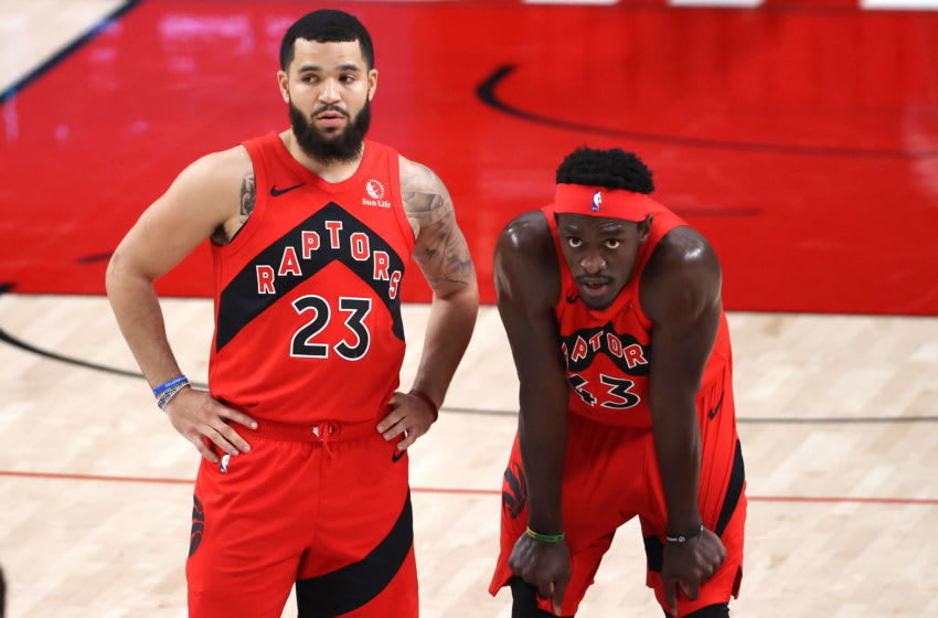 Toronto Raptors - Fred VanVleet and Pascal Siakam (Photo by Abbie Parr/Getty Images)