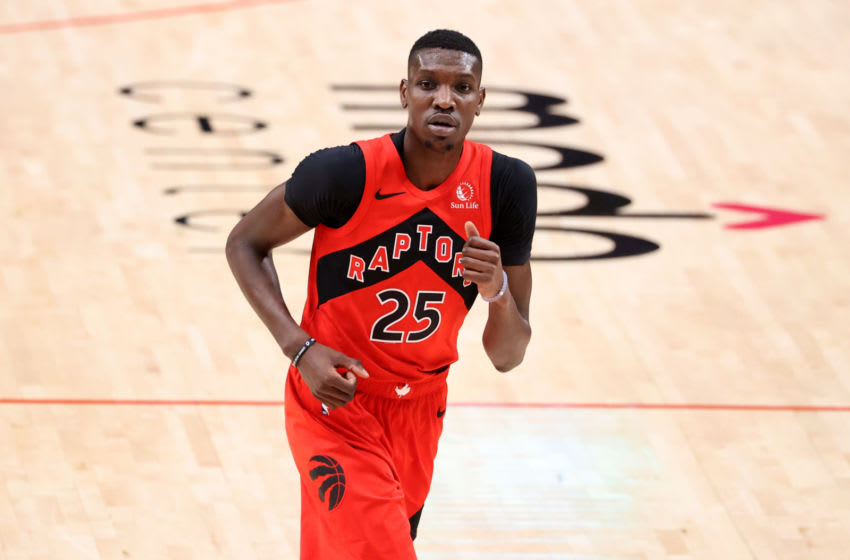 Toronto Raptors - Chris Boucher (Photo by Abbie Parr/Getty Images)