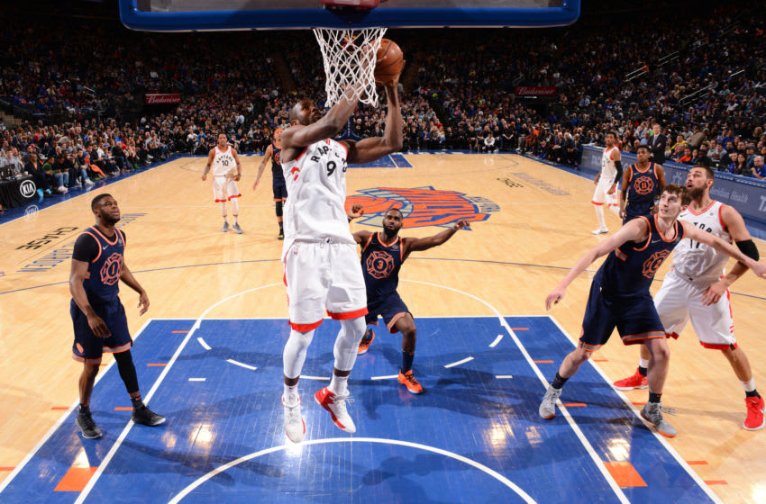 Toronto Raptors - Serge Ibaka (Photo by Jesse D. Garrabrant/NBAE via Getty Images)