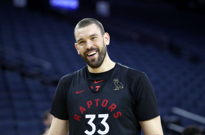Toronto Raptors - Marc Gasol (Photo by Joe Murphy/NBAE via Getty Images)