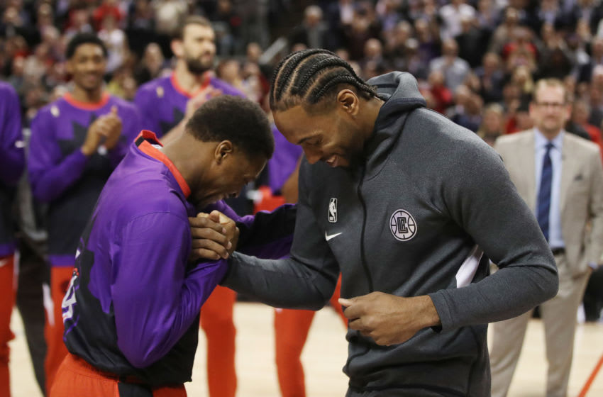 Toronto Raptors - Kyle Lowry and Kawhi Leonard (Steve Russell/Toronto Star via Getty Images)
