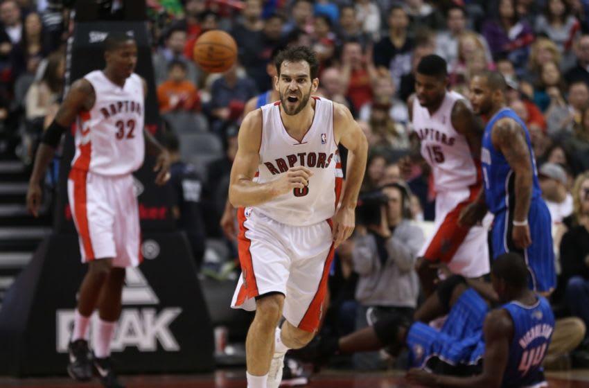 Toronto Raptors - Jose Calderon (Steve Russell/Toronto Star via Getty Images)