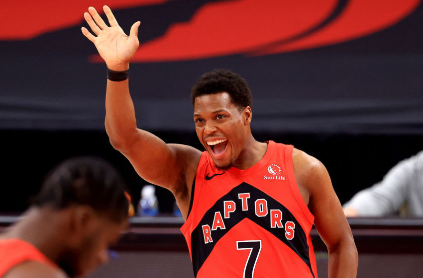 TAMPA, FLORIDA - JANUARY 29: Kyle Lowry #7 of the Toronto Raptors (Photo by Mike Ehrmann/Getty Images)