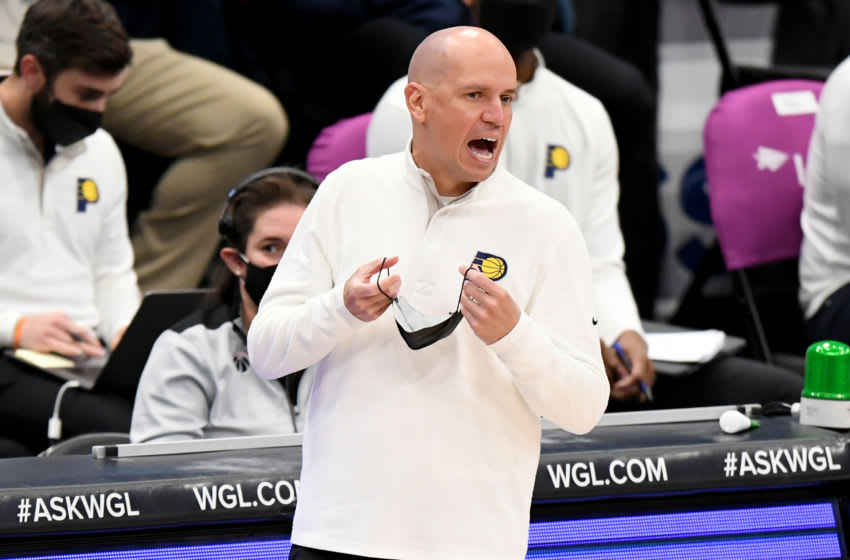 WASHINGTON, DC - MARCH 29: Head coach Nate Bjorkgren of the Indiana Pacers (Photo by Will Newton/Getty Images)
