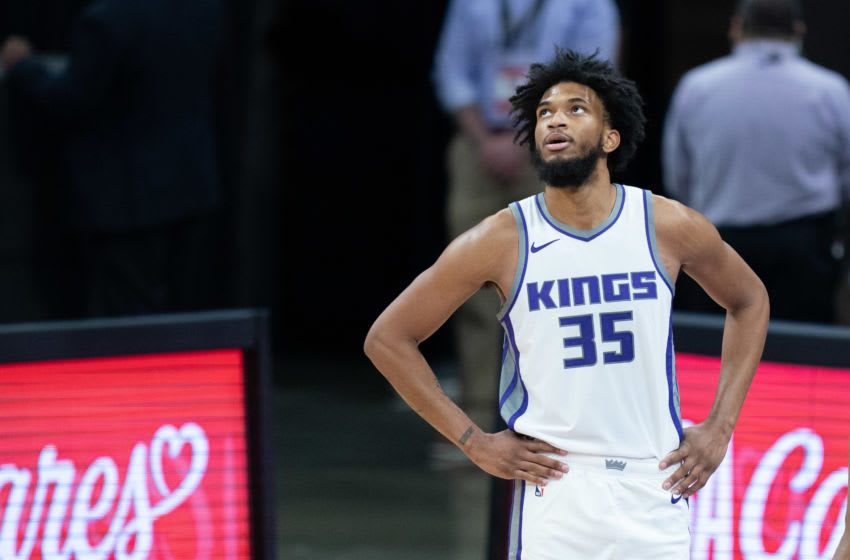 December 15, 2020; Sacramento, California, USA; Sacramento Kings forward Marvin Bagley III (35) Mandatory Credit: Kyle Terada-USA TODAY Sports