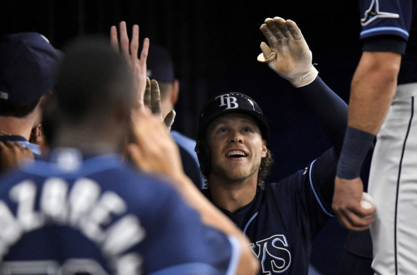 Taylor Walls Tampa Bay Rays (Photo by Douglas P. DeFelice/Getty Images)