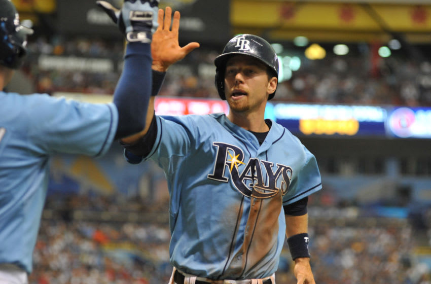 Ben Zobrist, Tampa Bay Rays (Photo by Al Messerschmidt/Getty Images)