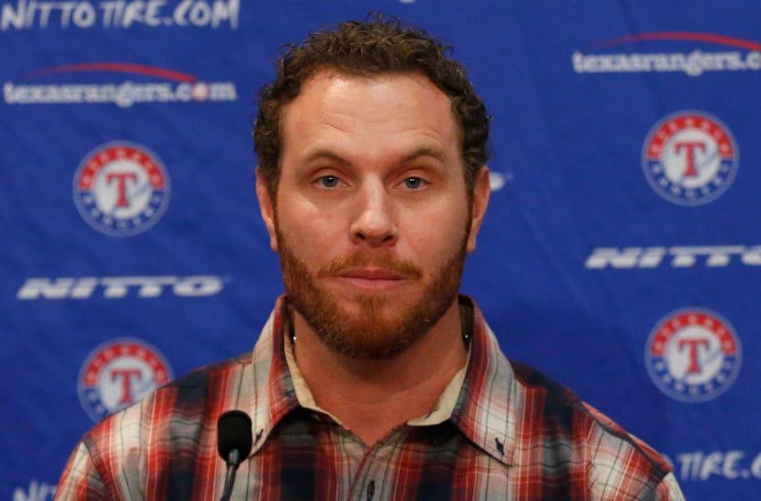 Josh Hamilton of the Texas Rangers (Photo by Tom Pennington/Getty Images)
