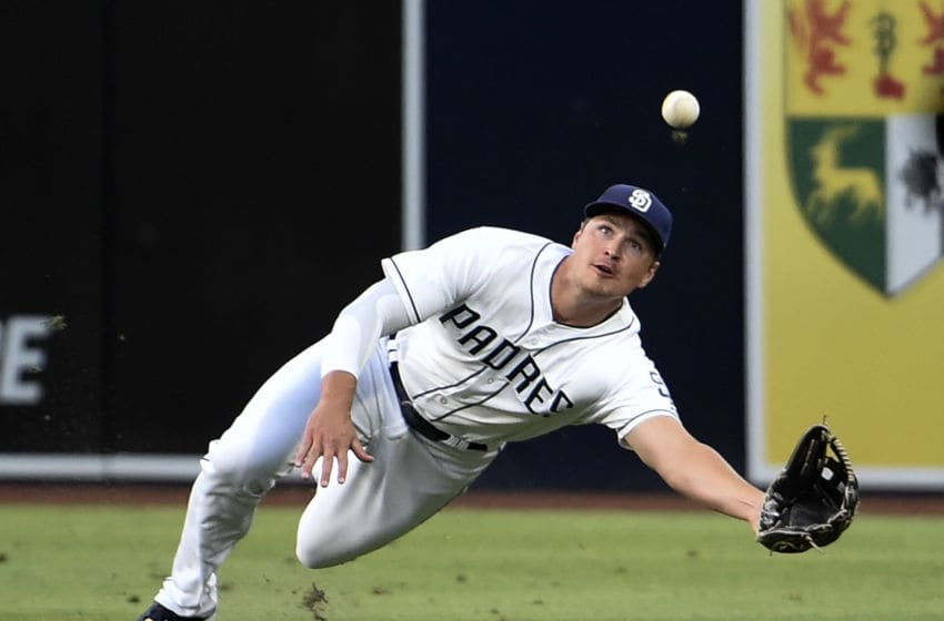 Hunter Renfroe (Photo by Denis Poroy/Getty Images)