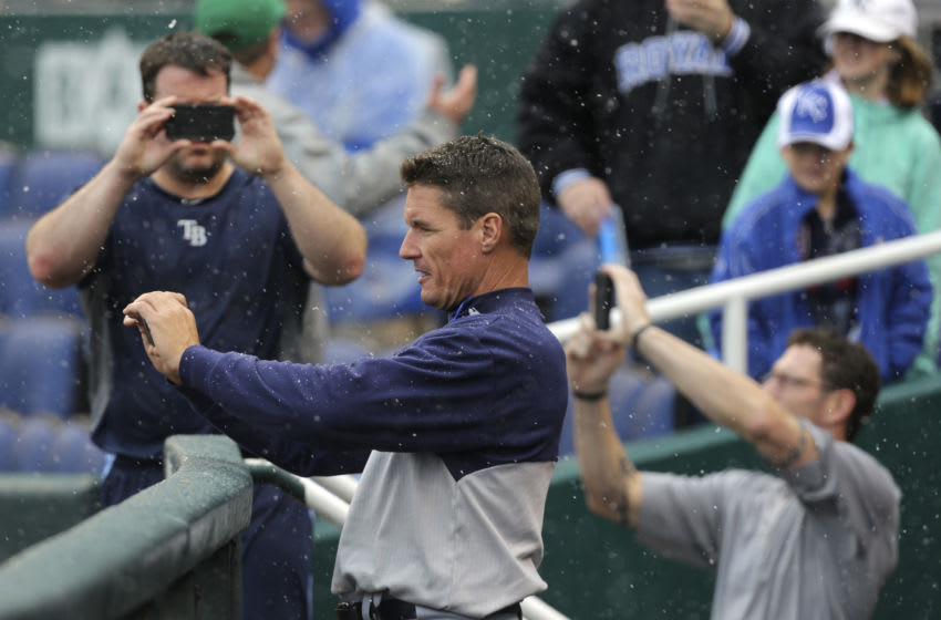 Jim Hickey Tampa Bay Rays (Photo by Ed Zurga/Getty Images)
