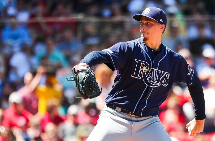 Blake Snell of the Tampa Bay Rays (Photo by Adam Glanzman/Getty Images)