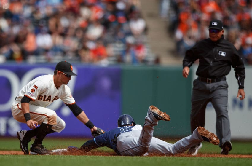 Yandy Diaz of the Tampa Bay Rays (Photo by Jason O. Watson/Getty Images)